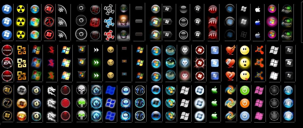 Картинки иконки кнопки пуск