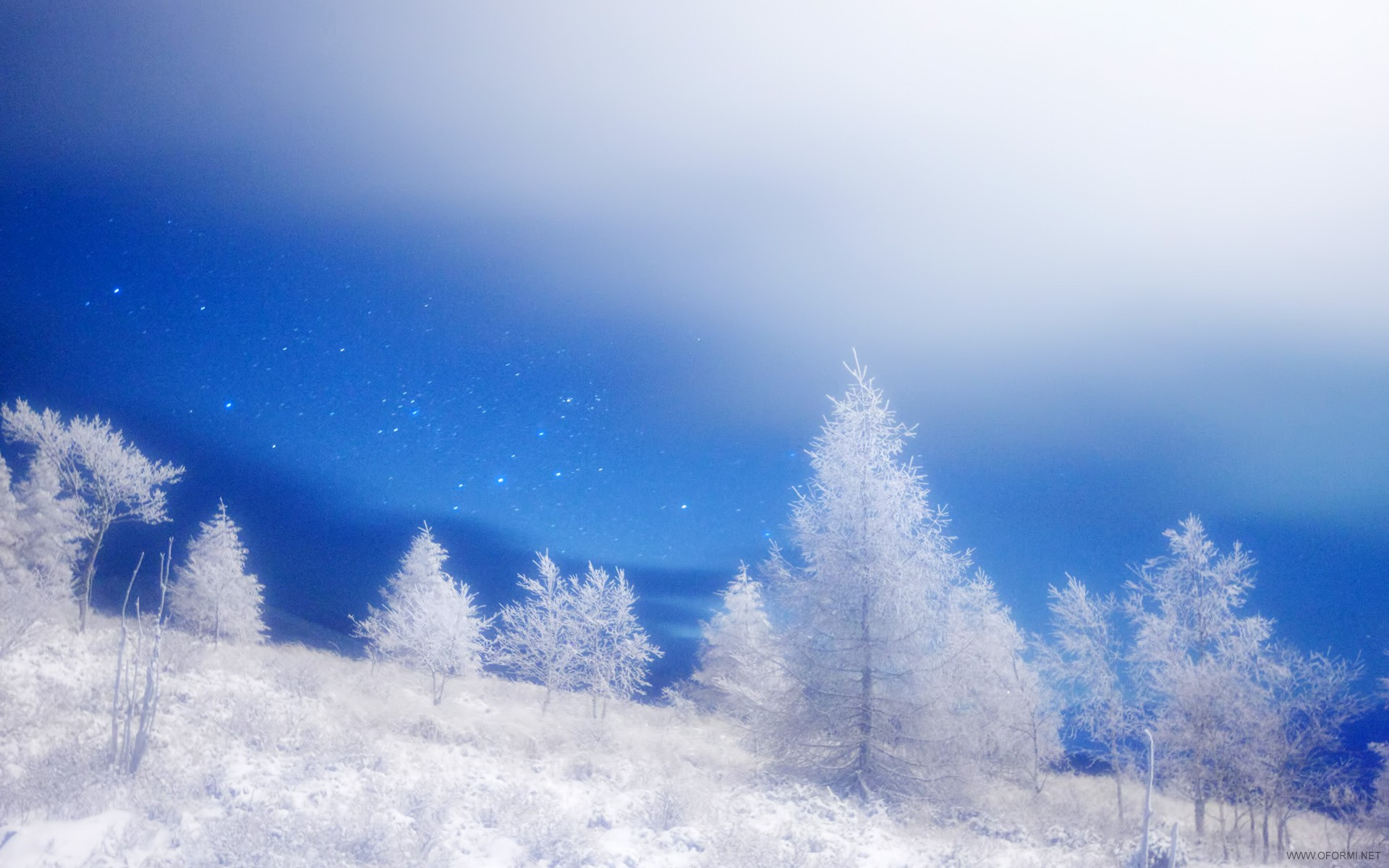 Природа » Зимний пейзаж...