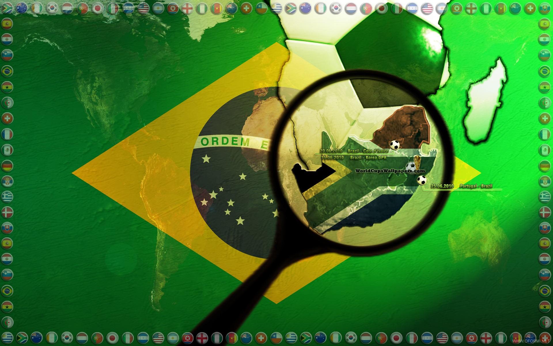 Бразилия чемпионат мира по футболу 2010