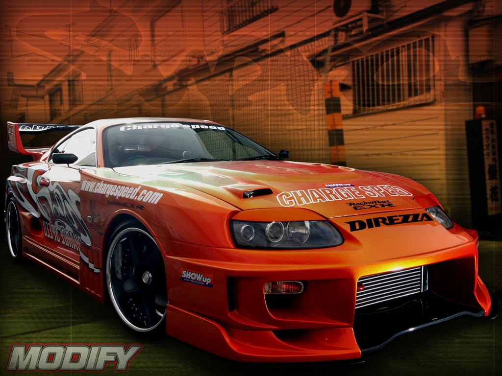 Modified Car Toyota Supra Toyota Supra Modified Twin