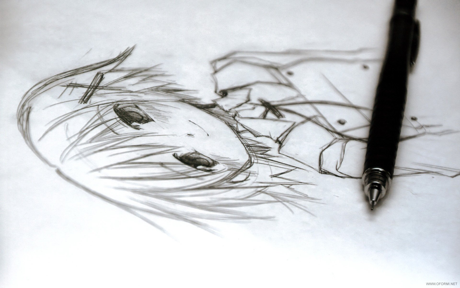 disegni a penna facili