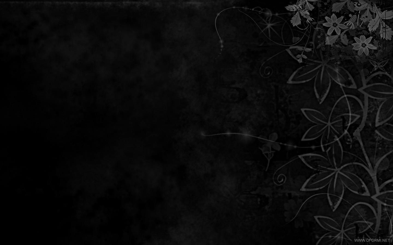 Графика чёрные цветы чёрные цветы