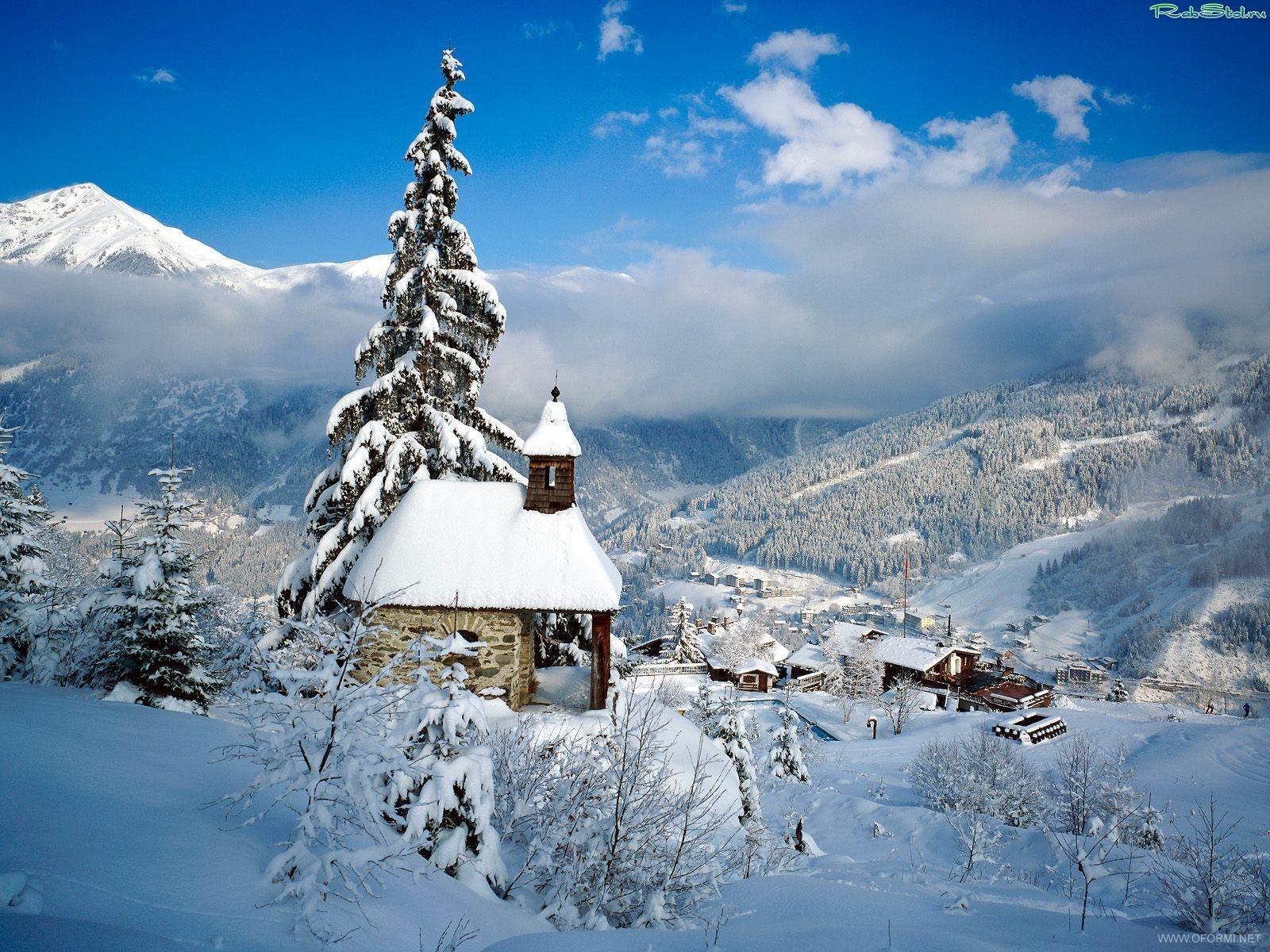 Зима в австрии архитектура галерея