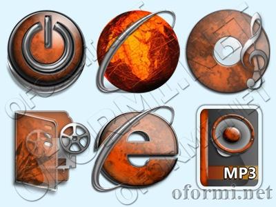 прикольные иконки для рабочего стола: