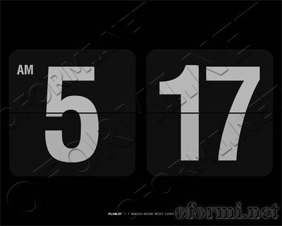 заставка часы на рабочий стол Windows Xp - фото 11