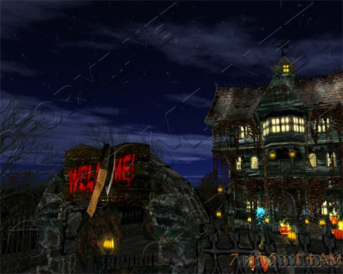 3D Halloween Holiday
