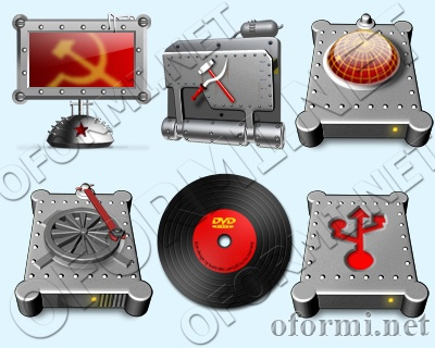 USSR icons