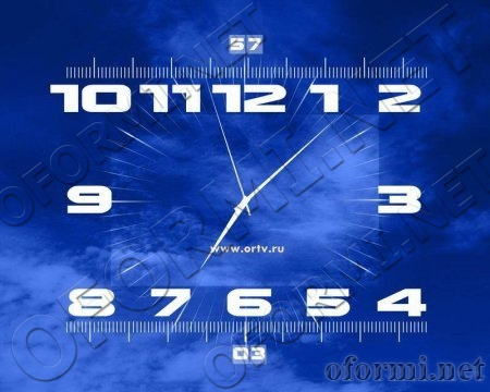 Clock OPT screensaver