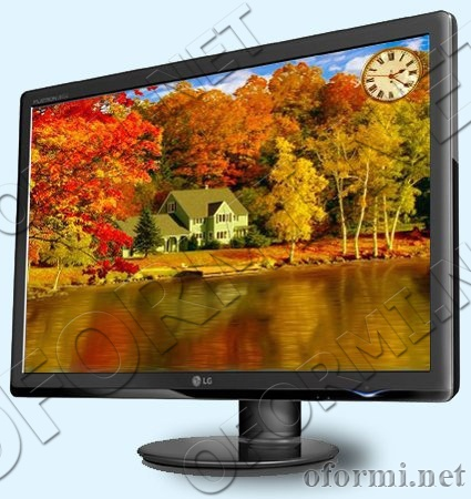 3D Gorgeous Fall Foliage