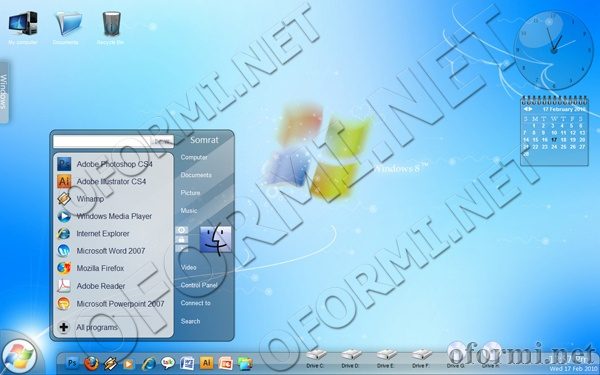 Windows 8 concept