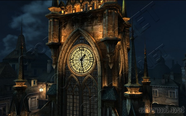 Clock Tower 3D Screensaver