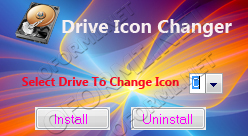 Drive icon changer