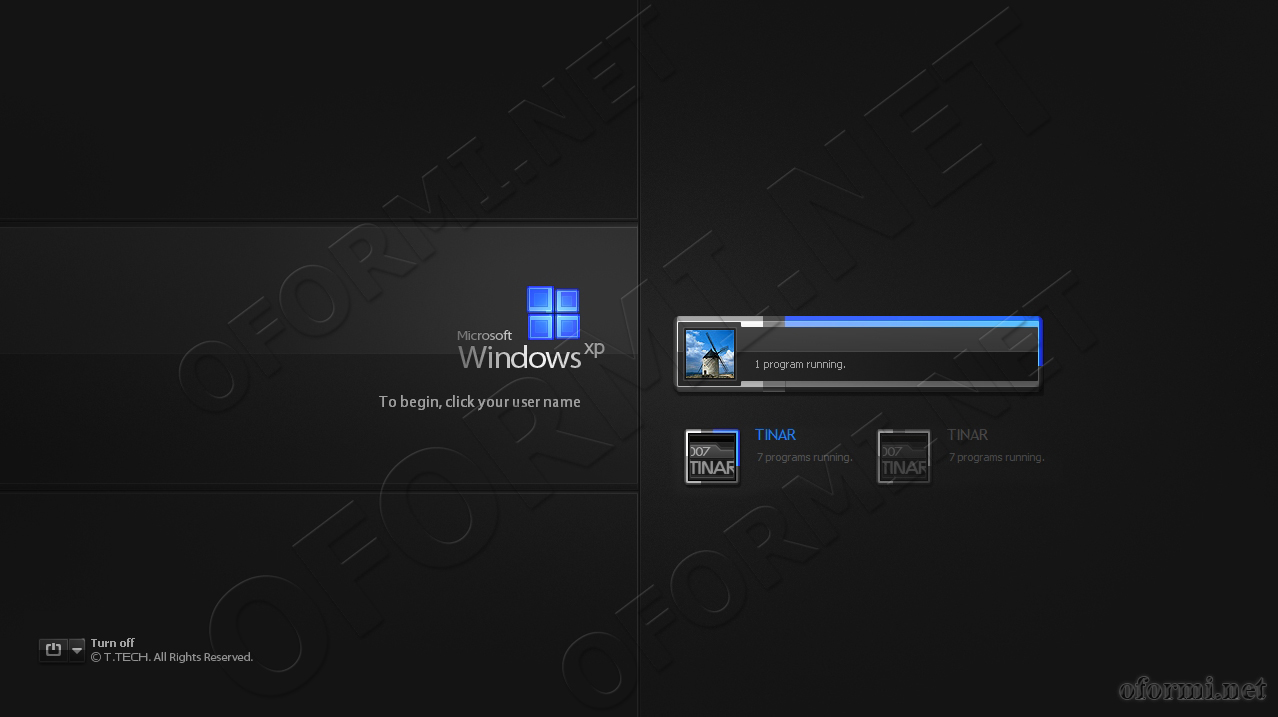 экран приветствия windows logonstudio 1.7.0.128012345