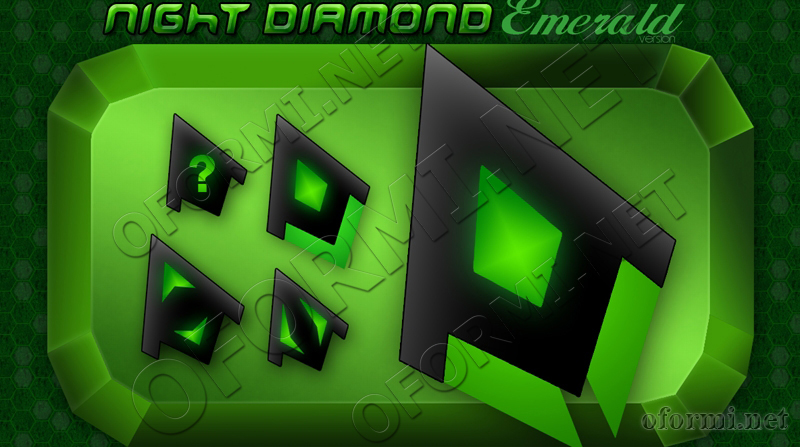 Night Diamond Emerald Version