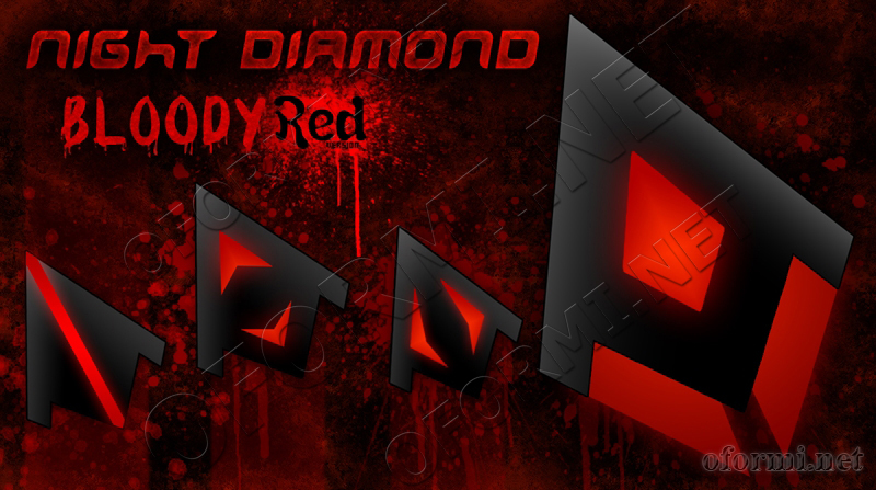 Night Diamond Bloody Red Version