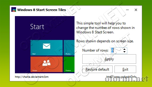 Win8StartScreenTiles