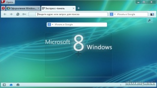 Windows 8 Opera theme