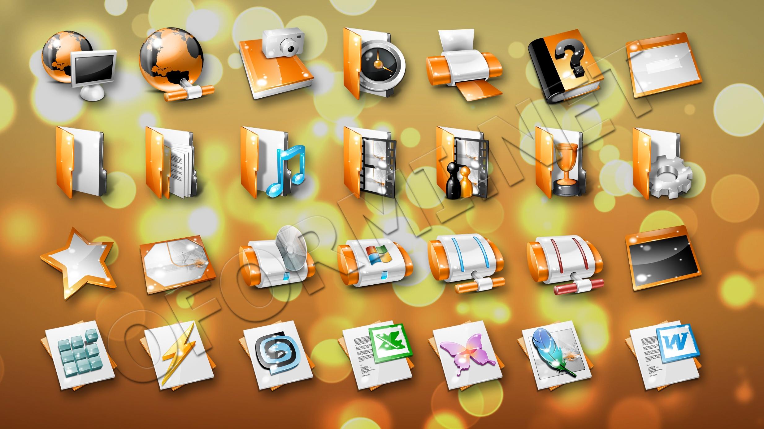 Папки с картинками для рабочего стола