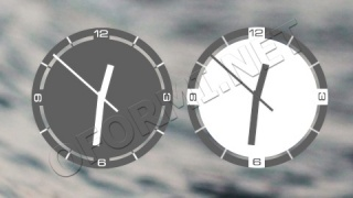 Smooth Clock XWidget