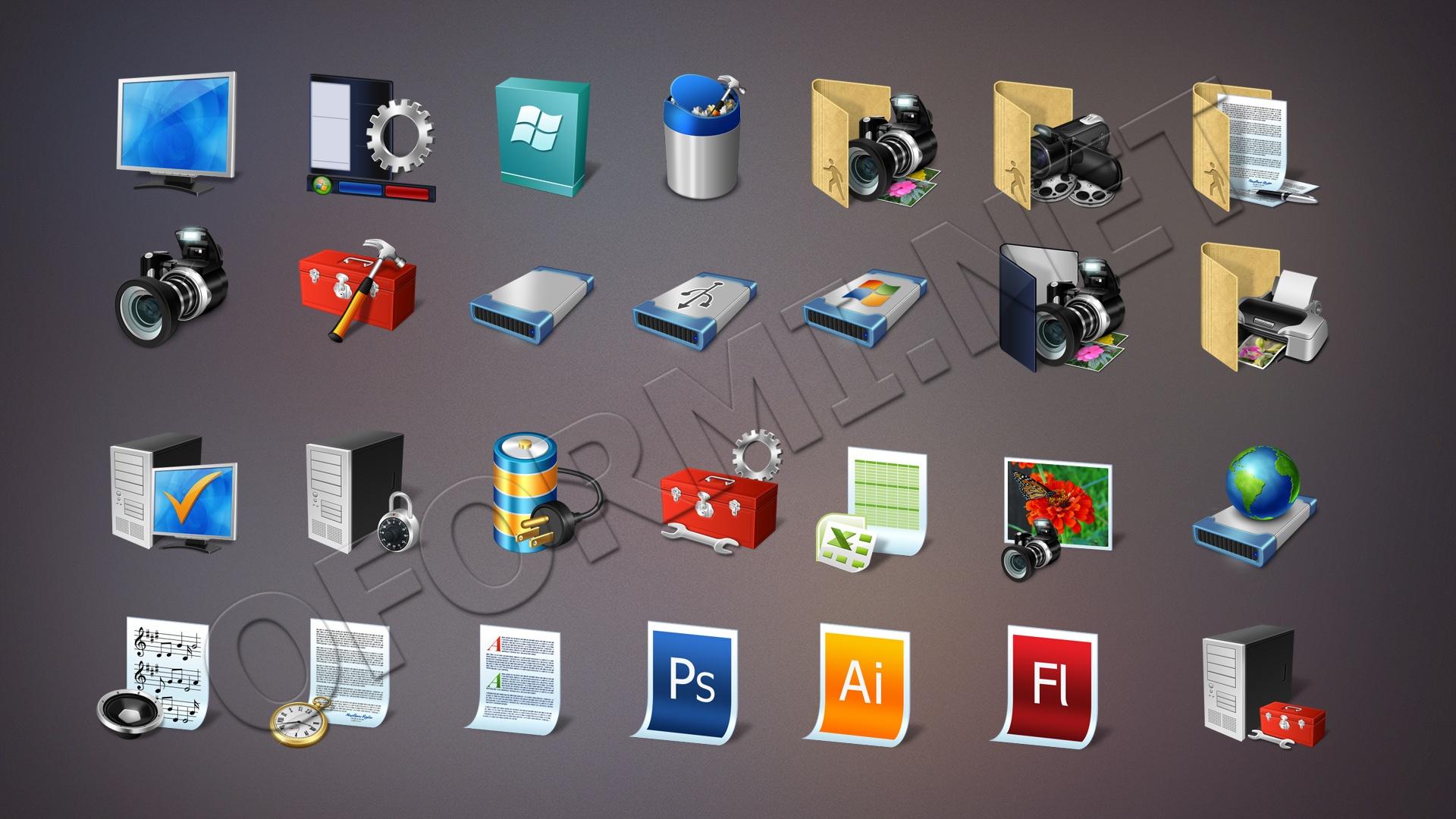 Оригинальные картинки иконки для рабочего стола нашей