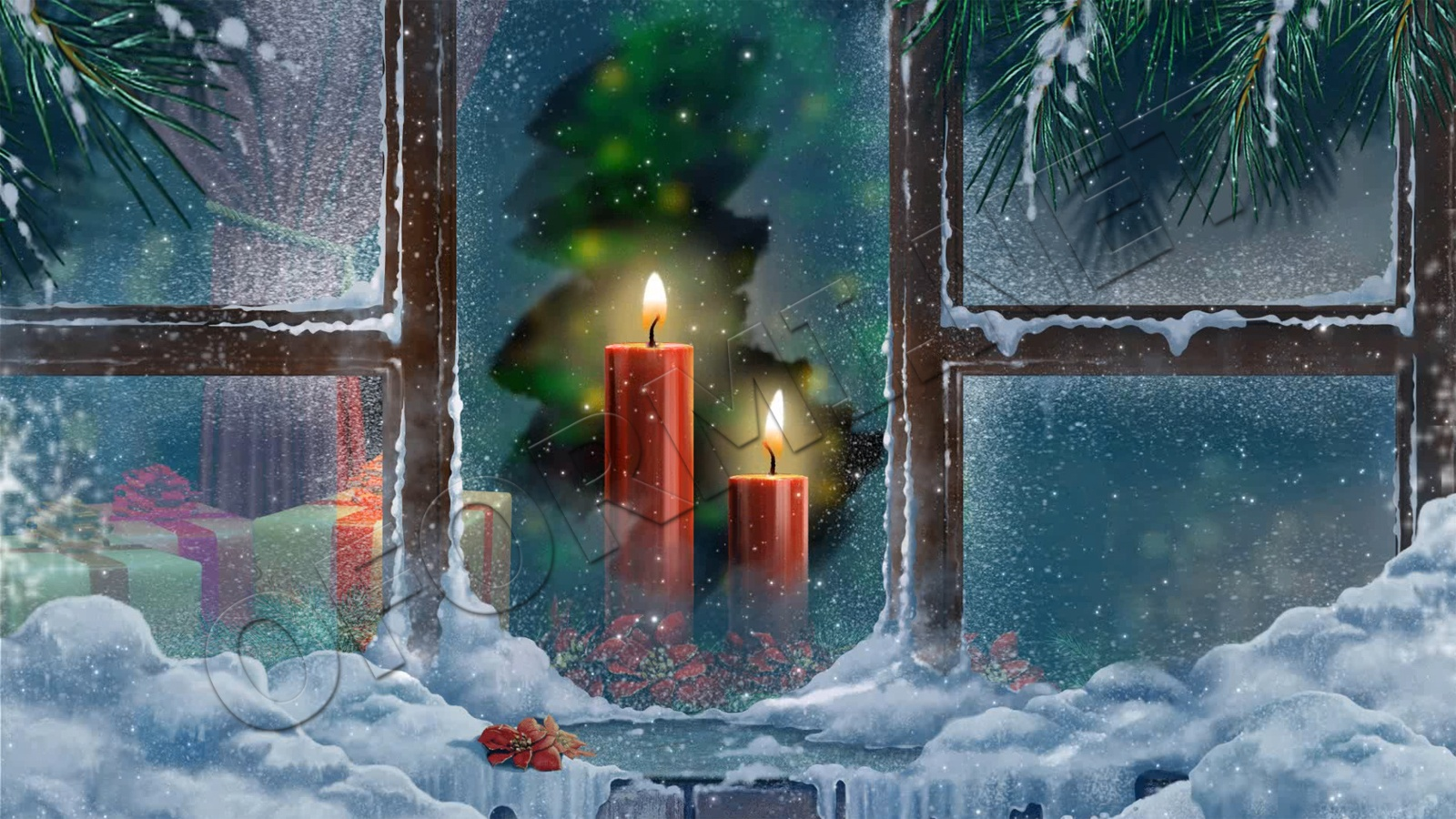 обои на рабочий стол 1920х1080 зима новый год рождество виндовс 7 оплатить кредит по номеру договора почта банк
