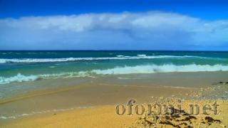 Волны на пляже