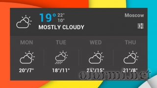 Holo Forecast Widget HD